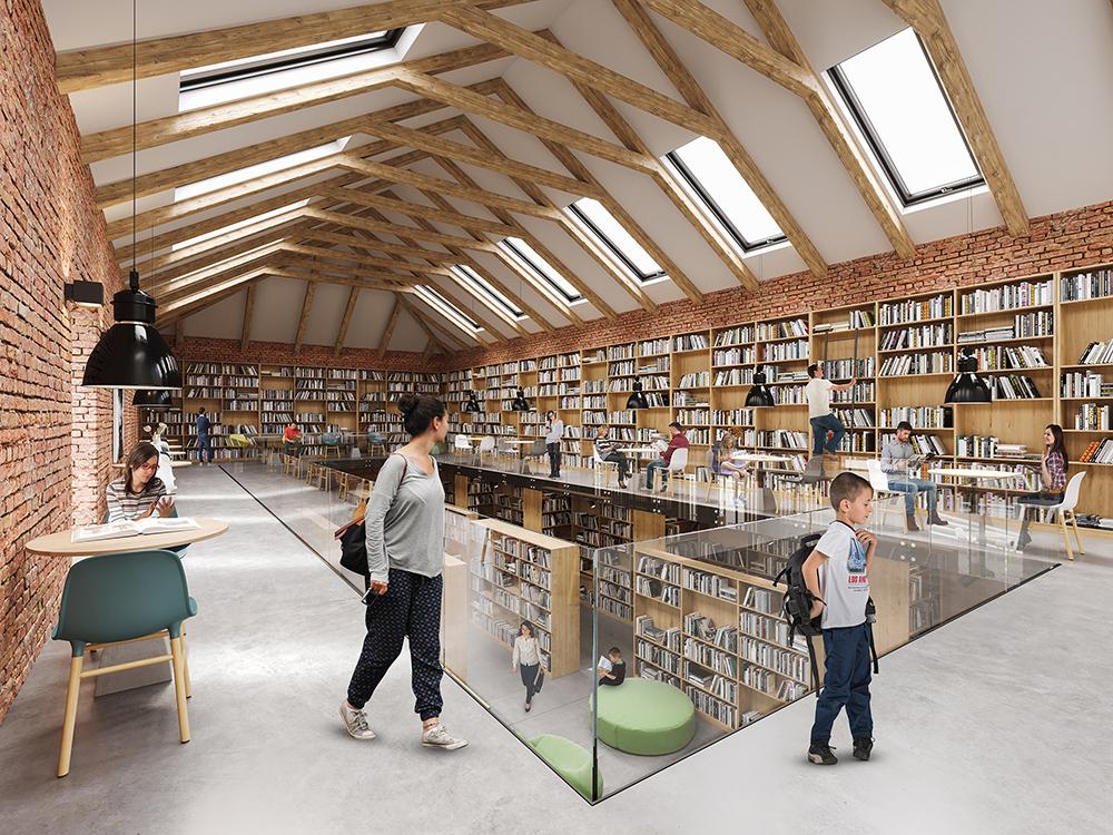 Rekonštrukcia knižnice