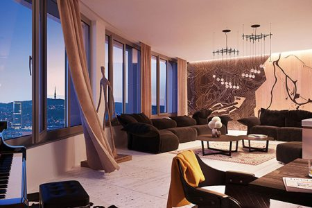 Sky Park penthouse