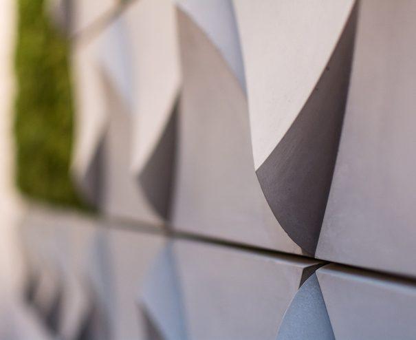 Betónový obklad trigon